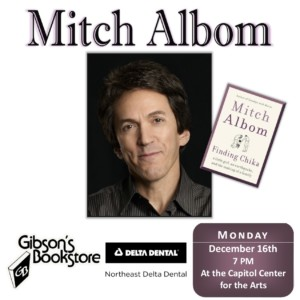 Author Mitch Albom with 'Finding Chika' @ Capitol Center for the Arts | Concord | New Hampshire | United States