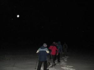 Moonlit Snowshoe for Adults @ Prescott Farm Environmental Education Center | Laconia | New Hampshire | United States