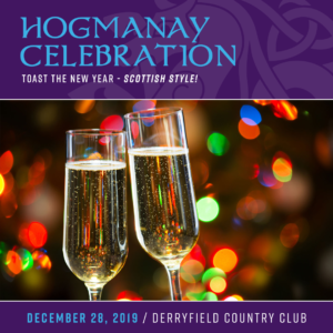 NHSCOT's Hogmanay Celebration @ Derryfield Country Club   Manchester   New Hampshire   United States