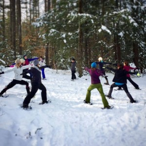 Snowshoe Yoga for Adults @ Prescott Farm Environmental Education Center | Laconia | New Hampshire | United States