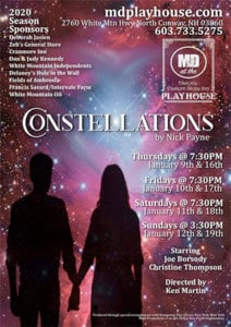 """""""Constellations"""" @ M&D Playhouse   Conway   New Hampshire   United States"""