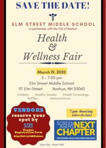 Health and Wellness Fair @ Elm Street Middle School | Nashua | New Hampshire | United States