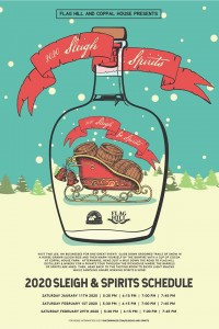 Sleighs & Spirits @ Flag Hill Distillery & Winery | Lee | New Hampshire | United States