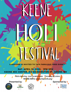 Holi Festival @ Fuller Park - Keene Rec Center | Keene | New Hampshire | United States