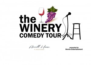 The Winery Comedy Tour @ Averill House Vineyard | Brookline | New Hampshire | United States