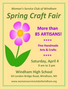 Spring Craft Fair @ Windham High School | Windham | New Hampshire | United States