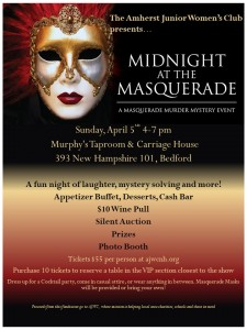 Midnight at the Masquerade: A Masquerade Murder Mystery Event @ Murphy's Taproom & Carriage House | Bedford | New Hampshire | United States