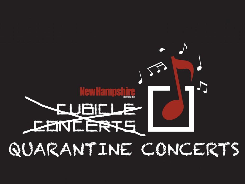 Quarantine Concerts Logo On Black32