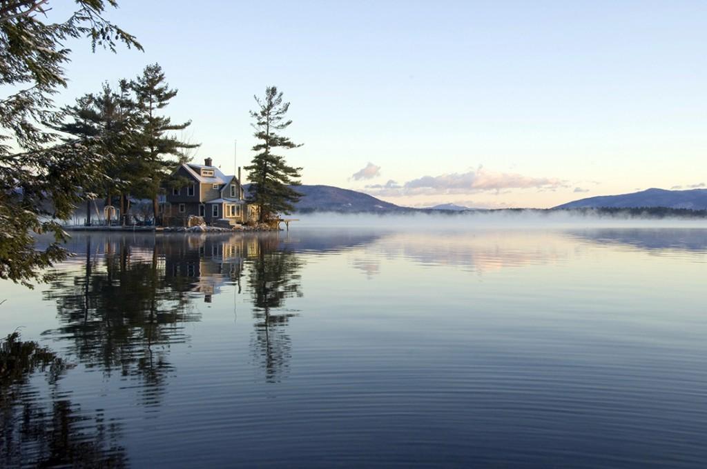 Mystical Morning Lake