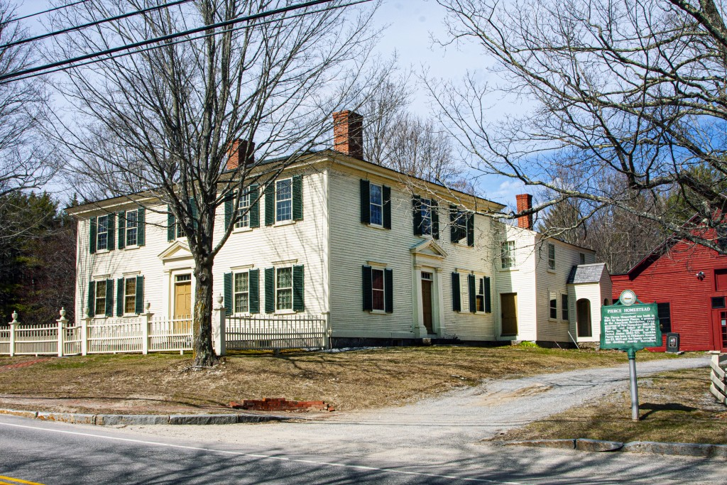 4490 Hillsboro, The Pierce Homestaed, Boyhood Home Of President Franklin Pierce.