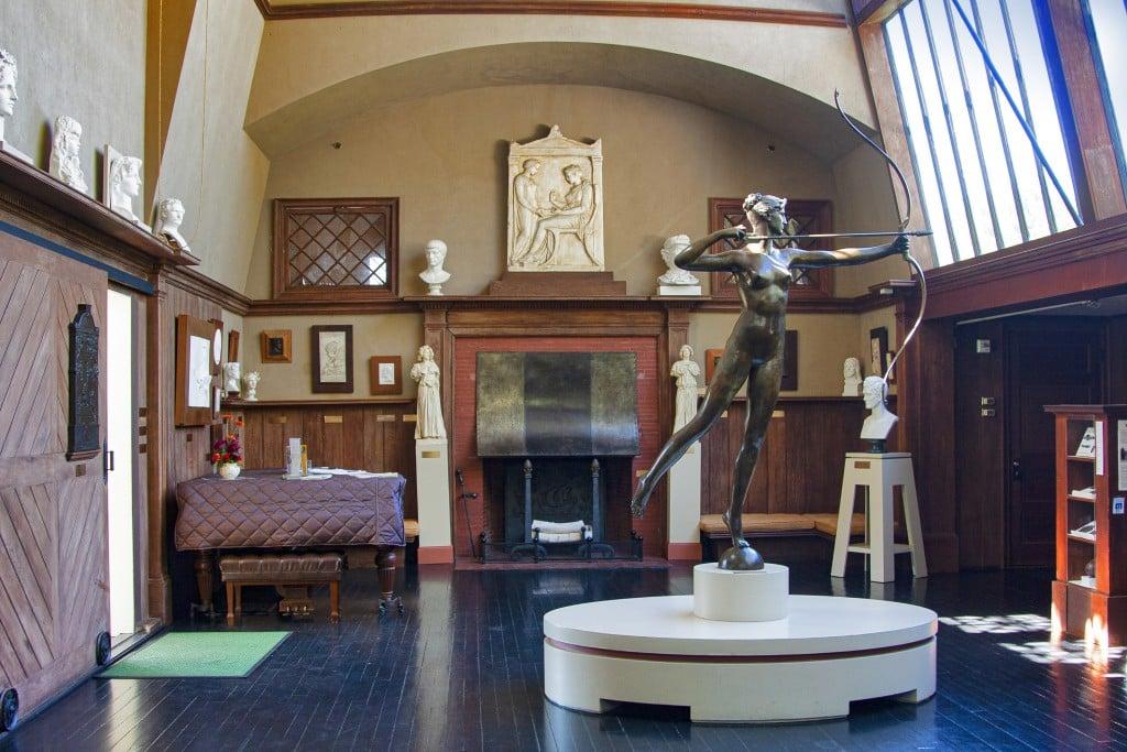 9164 The Cornish, Nh, Studio Of Sculptor Augustus Saint Gaudens