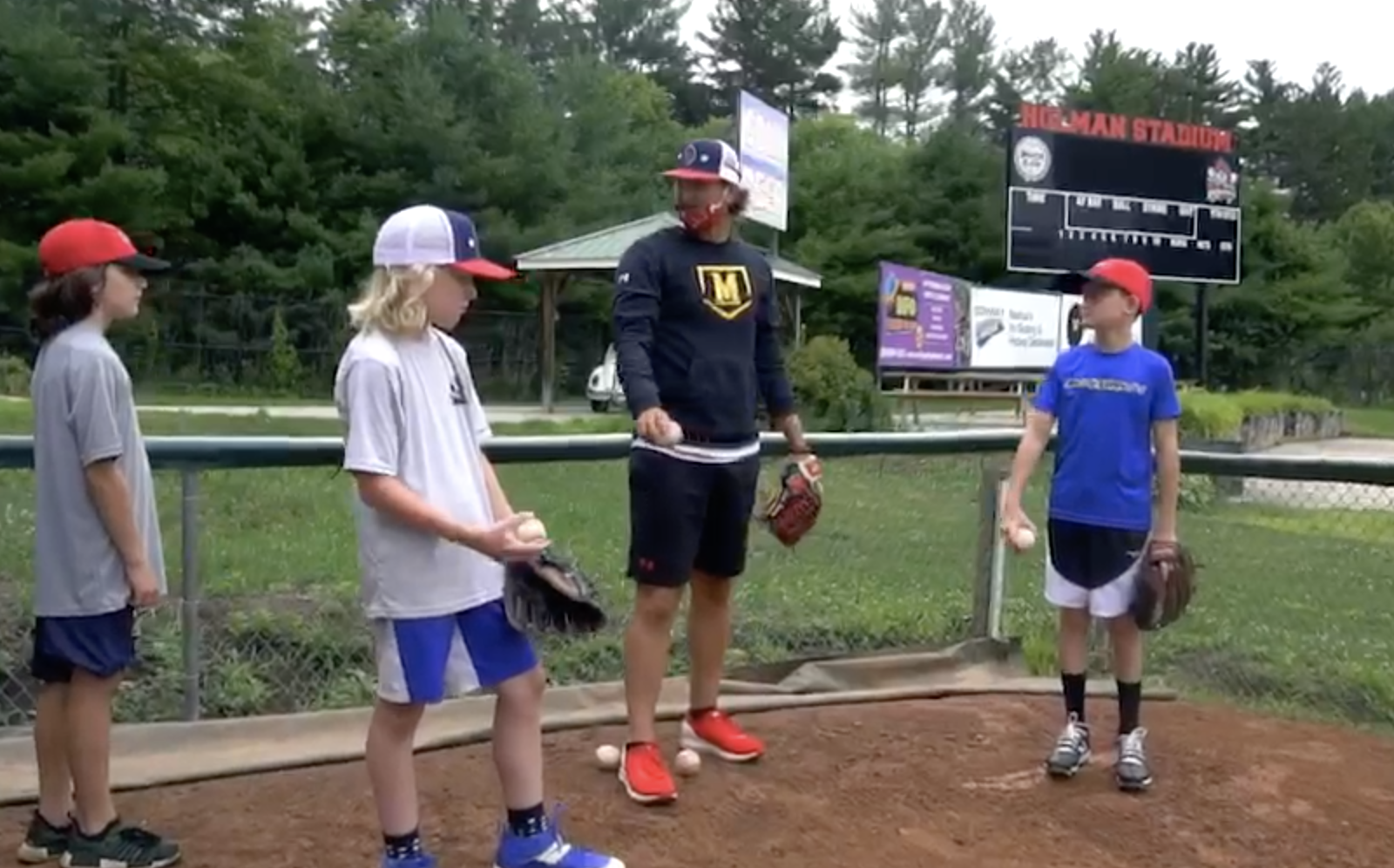 Nashua Silver Knights Baseball Camp