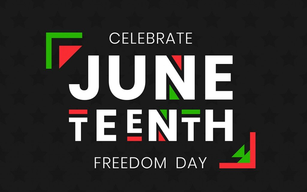 Juneteenth Freedom Day Banner. African American Independence Day, June 19, 1865. Vector Illustration Of Design Template For National Holiday Poster Or Card