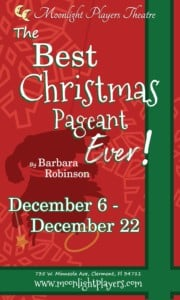 The Best Christmas Pageant Ever @ Moonlight Players' Warehouse Theatre | Clermont | Florida | United States