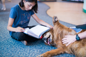 Angel Paws to Read @ West Oaks Branch Library |  |  |