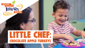 Little Chef: Chocolate Apple Turkeys @ South Creek Branch Library | | |