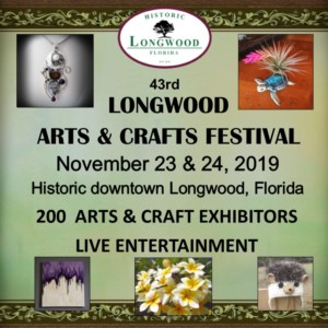 43rd annual Longwood Arts and Crafts Festival @ Downtown Historic Longwood | Longwood | Florida | United States