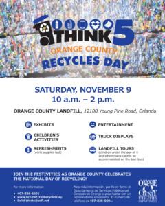 Orange County Recycles Day @ Orange County Landfill |  |  |