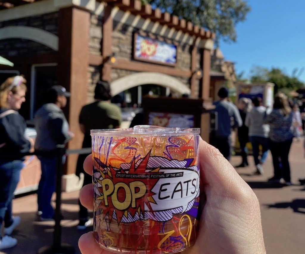 Tomato Soup Can Bloody Mary from the Pop Eats! Food Studio at Epcot International Festival of the Arts