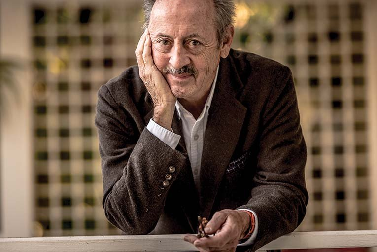Poet Billy Collins, Photo By Roberto Gonzalez