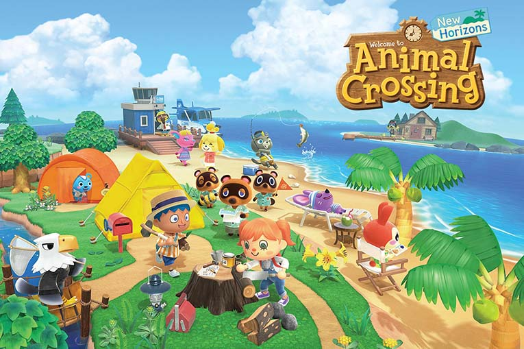 Animal Crossing New Horizons Switch Hero