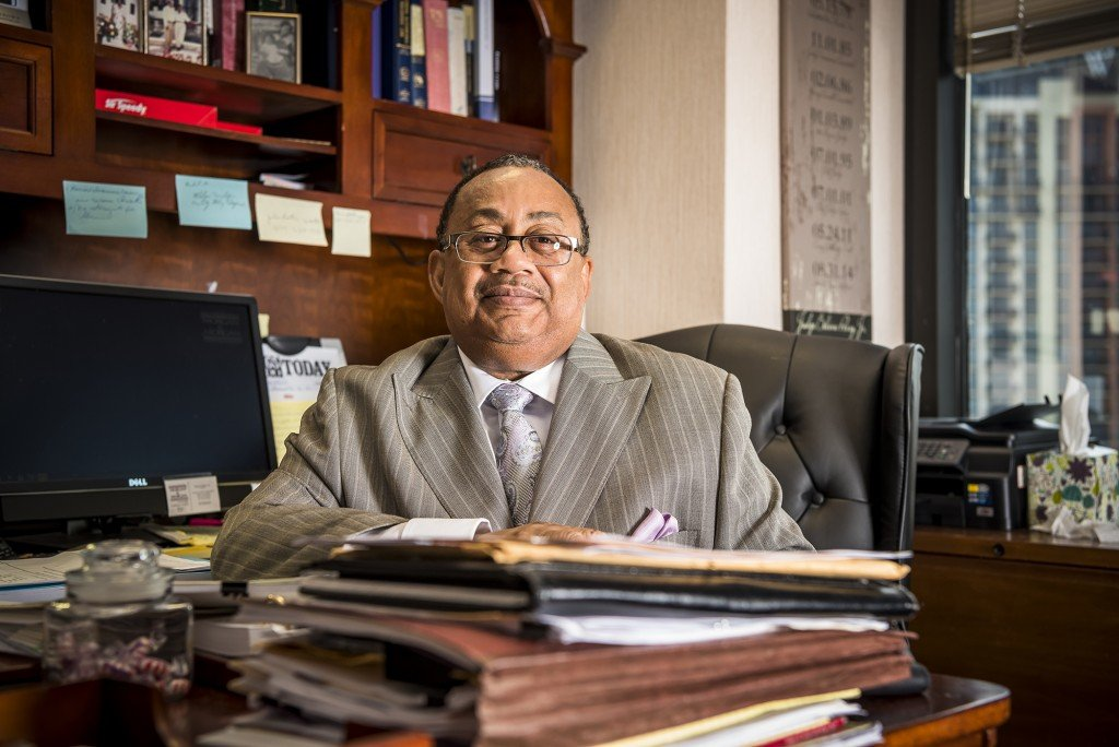Belvin Perry, Retired Judge, Photo By Roberto Gonzalez