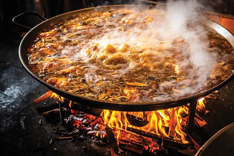 Wood Fired Paella