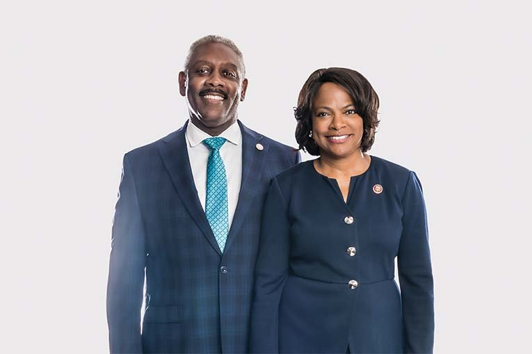 Jerry And Val Demings, Orlando's Most Powerful, Photo By Roberto Gonzalez