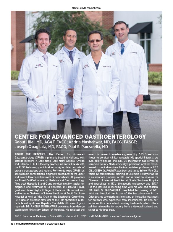Center for Advanced Gastroenterology
