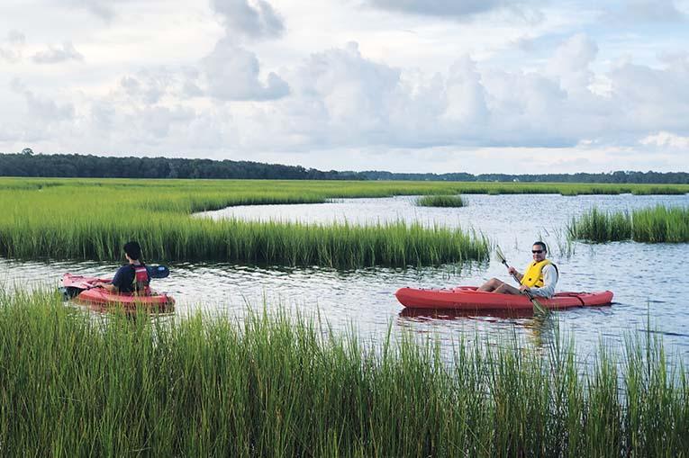 Kayaking At 7 Creeks Credit Mayda Velez