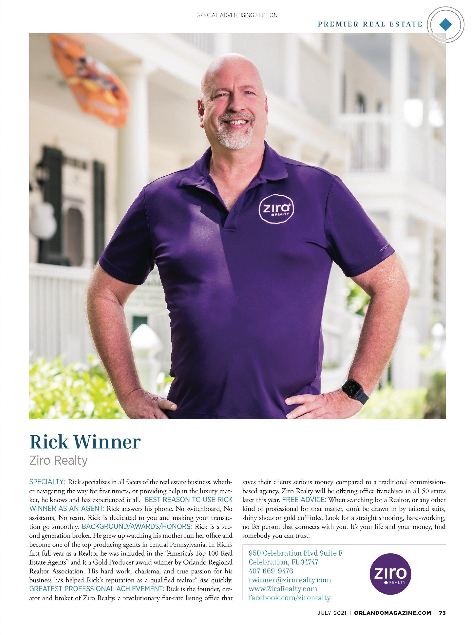 Winner, Rick