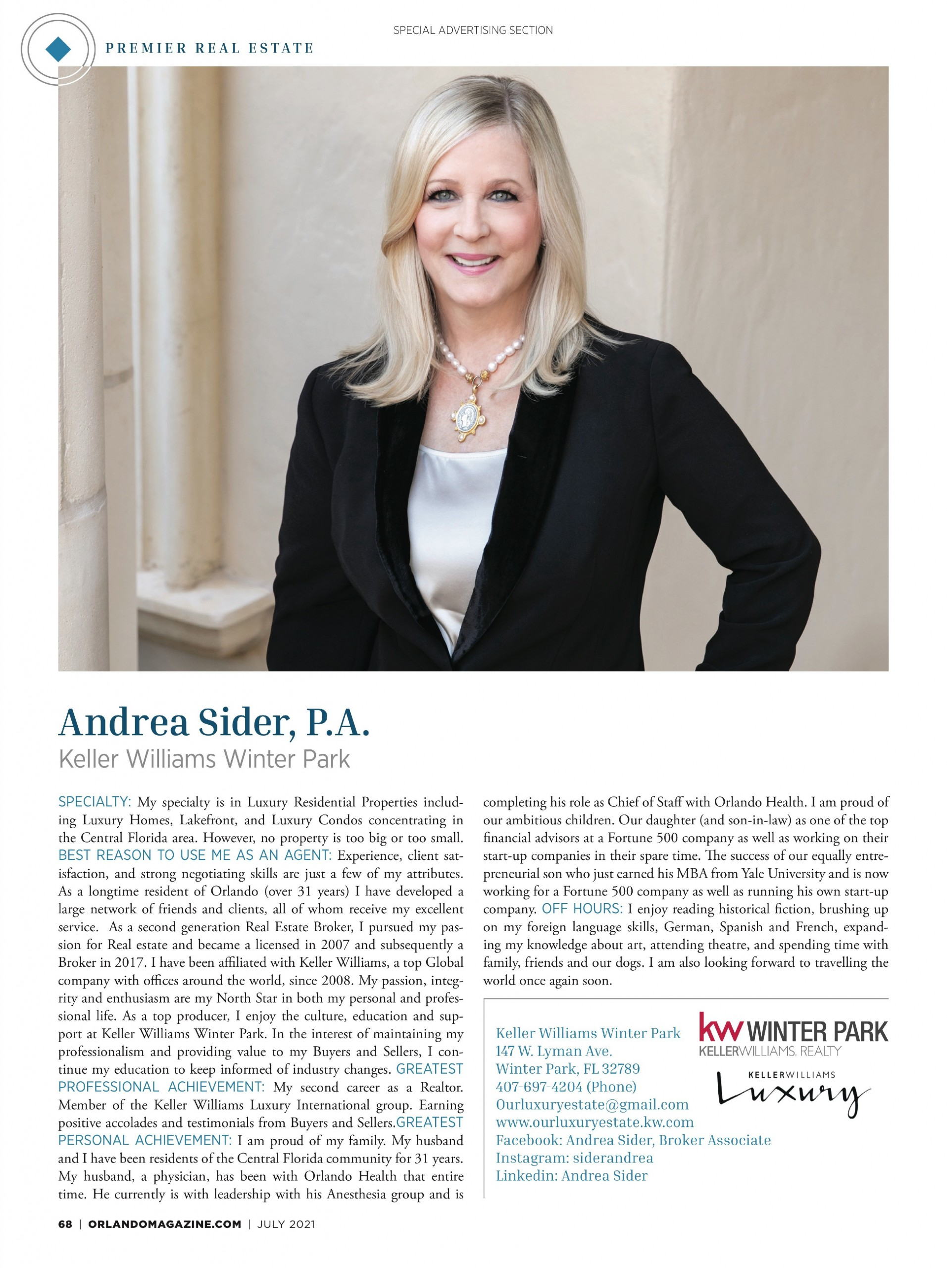 Sider, Andrea
