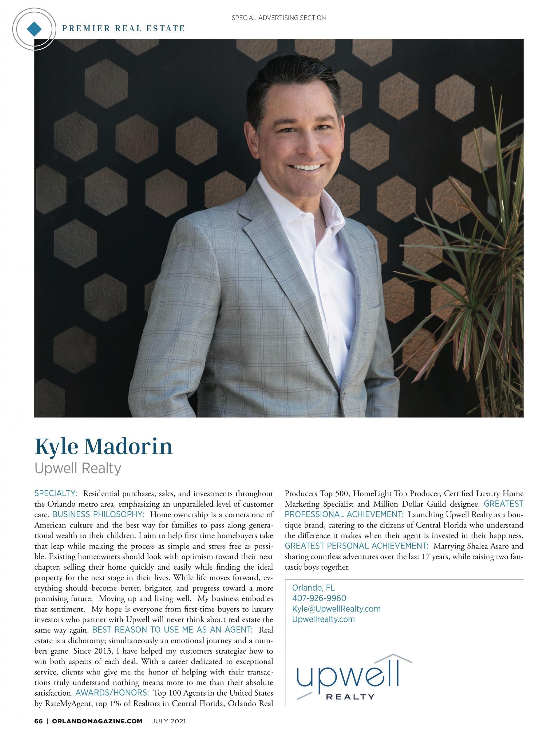 Madorin, Kyle