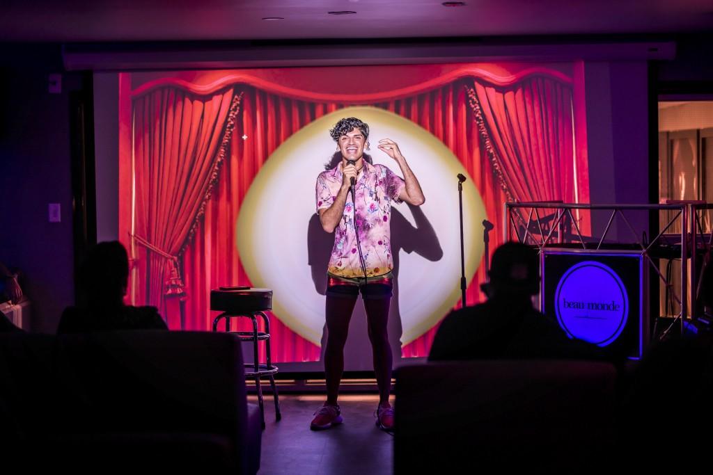 Comedians At Beau Monde, Photo By Roberto Gonzalez