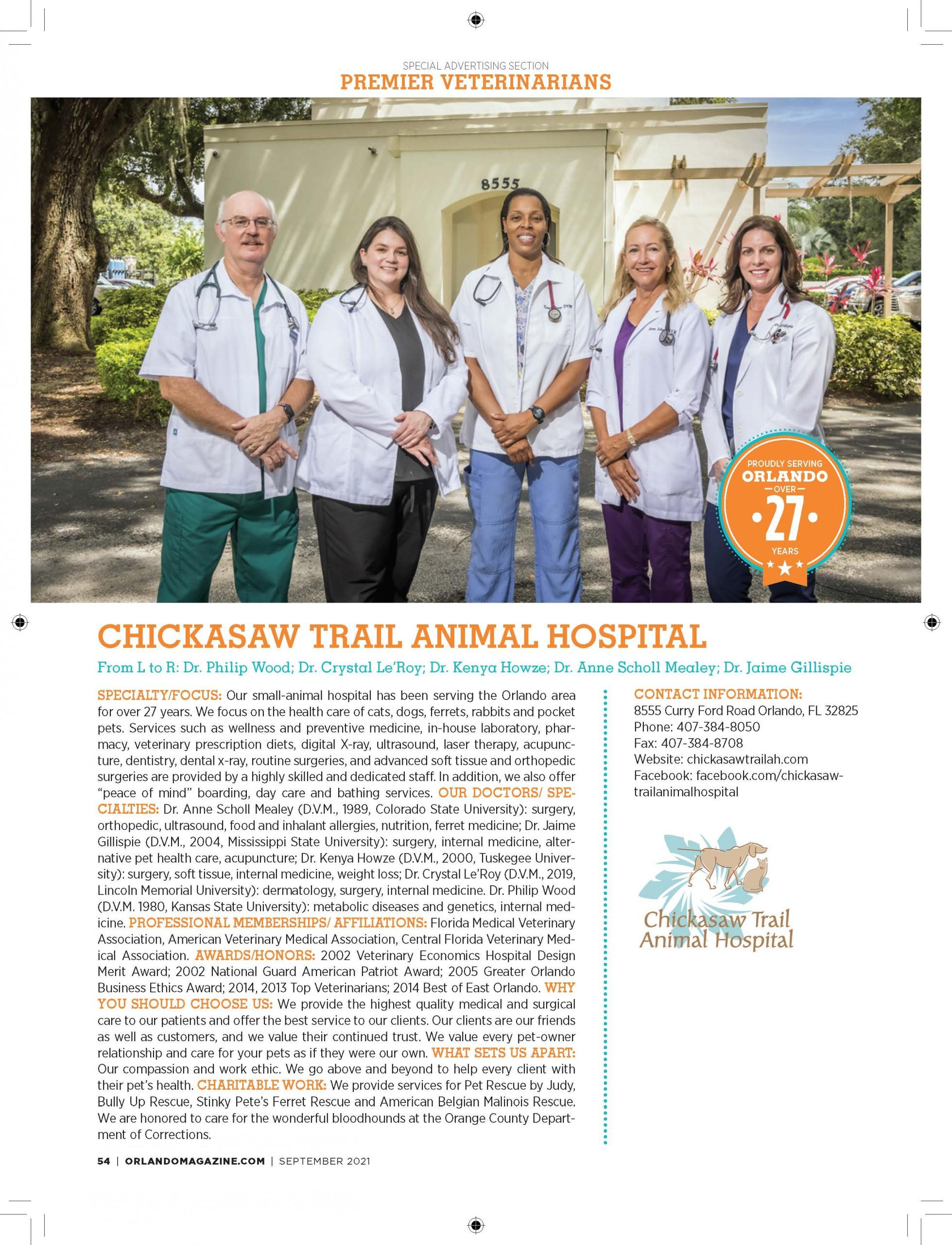 Chickasaw Trail Animal Hospital