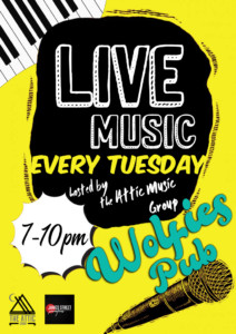 The Attic Music Group Presents: @ Wolfie's Pub