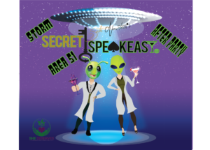 Secret Speakeasy: Storm Area 51 After Party by Seth Neustein @ Secret Speakeasy |  |  |