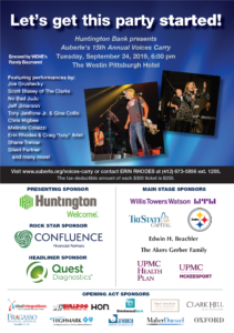 15th Annual Voices Carry Presented by Huntington Bank @ The Westin Pittsburgh |  |  |