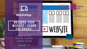 Workshop: Building Your Website - Learn the Basics @ Chatham Eastside | Pittsburgh | Pennsylvania | United States