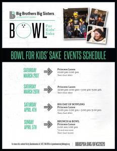 Bowl For Kids' Sake @ Princess Lanes | Pittsburgh | Pennsylvania | United States