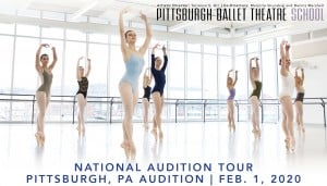 Pittsburgh Ballet Theatre School to hold auditions at PBT Studios on Feb. 1! @ Pittsburgh Ballet Theatre