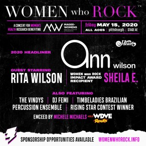 Women who Rock Ft. Ann Wilson of Heart @ Stage AE | Pittsburgh | Pennsylvania | United States