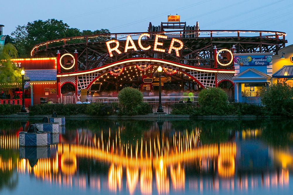 Racer Kurt Miller