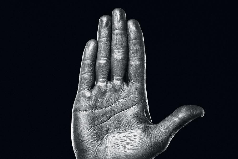 Hand Black Ja20 4ck