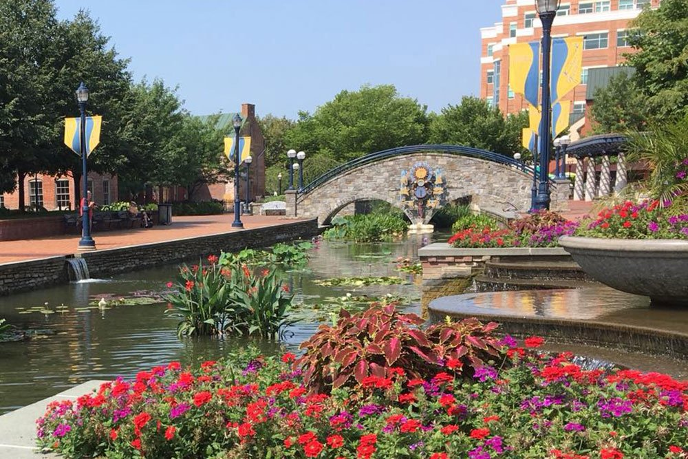 Downtown Frederick, Carroll Creek Park