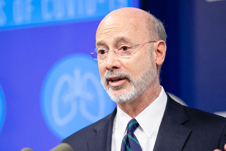 Governor Wolf Speaks On Coronavirus