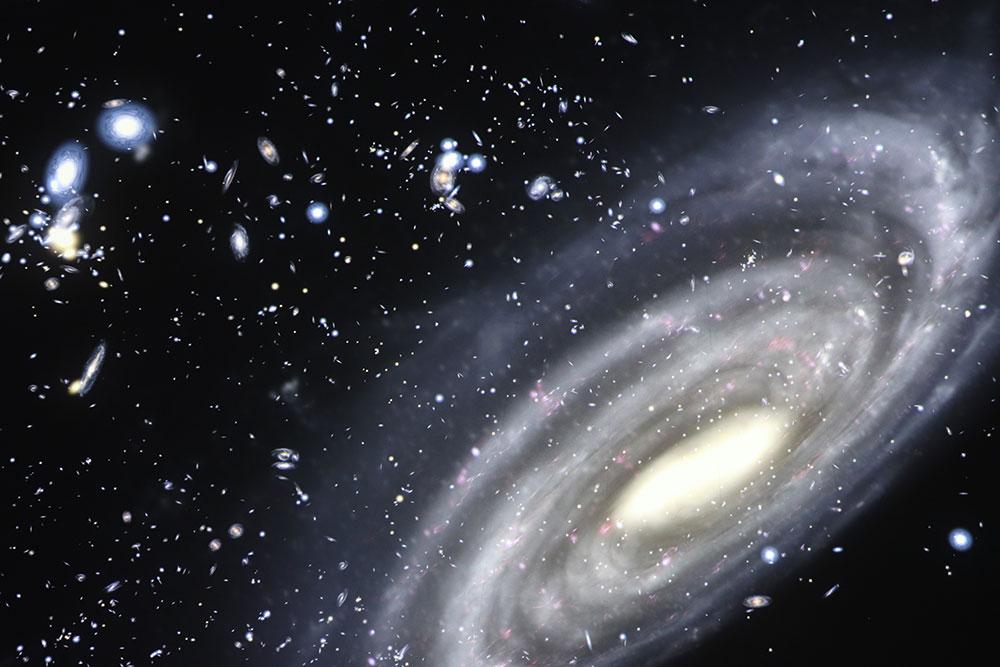 Milky Way Galaxy Charissa Sedor Buhl Planetarium
