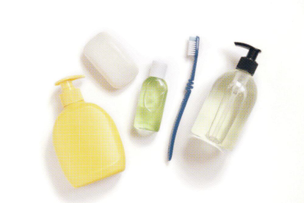 Bath Items Isolated