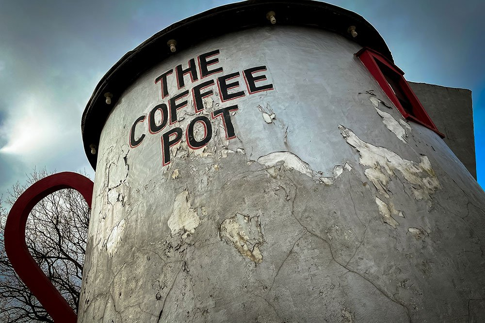 Bedford Coffeepot