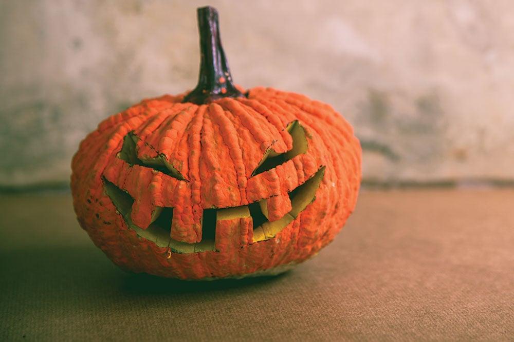 Halloween Pumpkin Grin